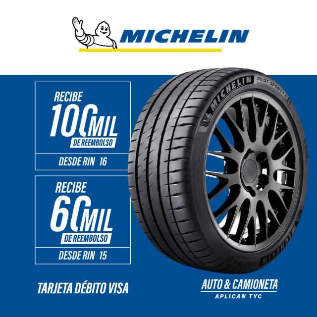 Michelin Rebate Septiembre